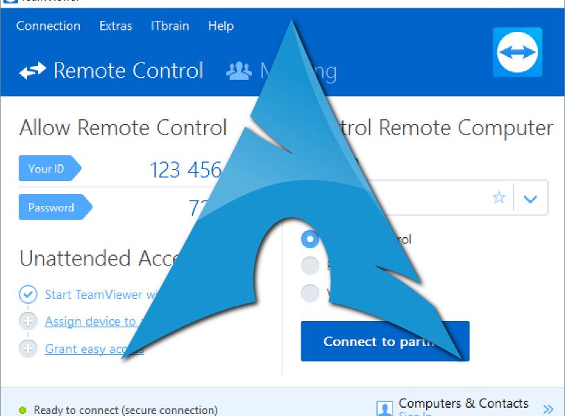 Teamviewer no inicia en ArchLinux